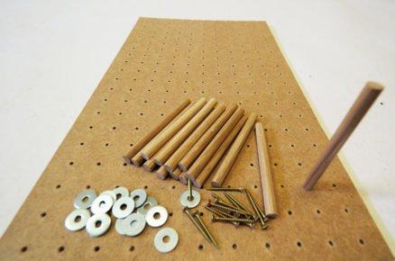 výroba organizéru do kuchyňské zásuvky