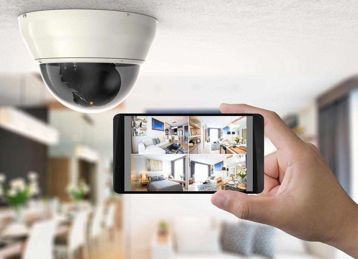 Bezpčená domácnost: propojení kamery s telefonem