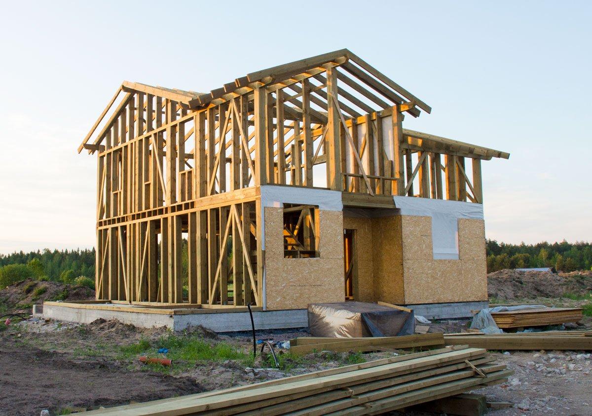 Co vás čeká před stavbou domu: dřevostavba.