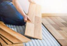 Laminátové podlahy: pokládání podlahy