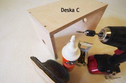 výroba zásobníku na pásky: základní konstrukce