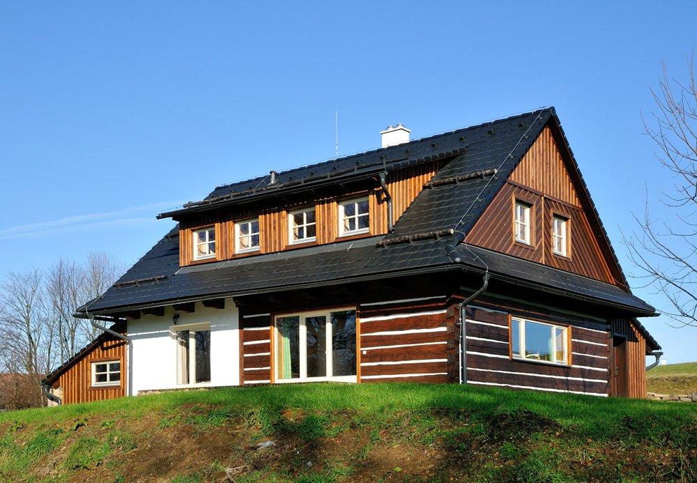 Dům s betonovými taškami s technologií STAR
