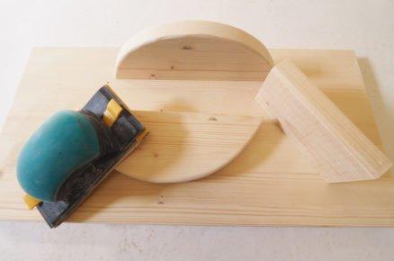jak vyrobit balanční desku: broušení