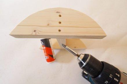 jak vyrobit balanční desku: spojování