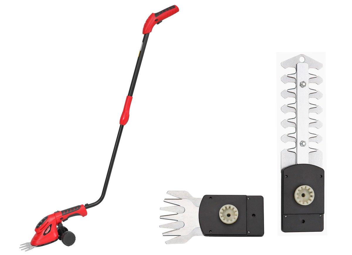 Akumulátorový nůžkový vyžínač HECHT 5036 SET