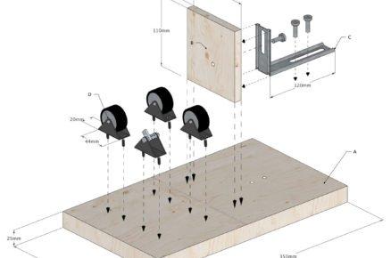 Jak vyrobit řezačku na lahve: schéma rozměrů řezačky