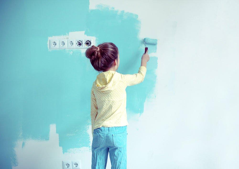 Proč si vymalovat stěny přírodními barvami