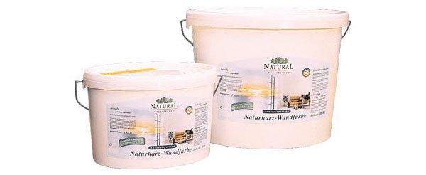 Natural pryskyřičná disperzní barva pro interiéry