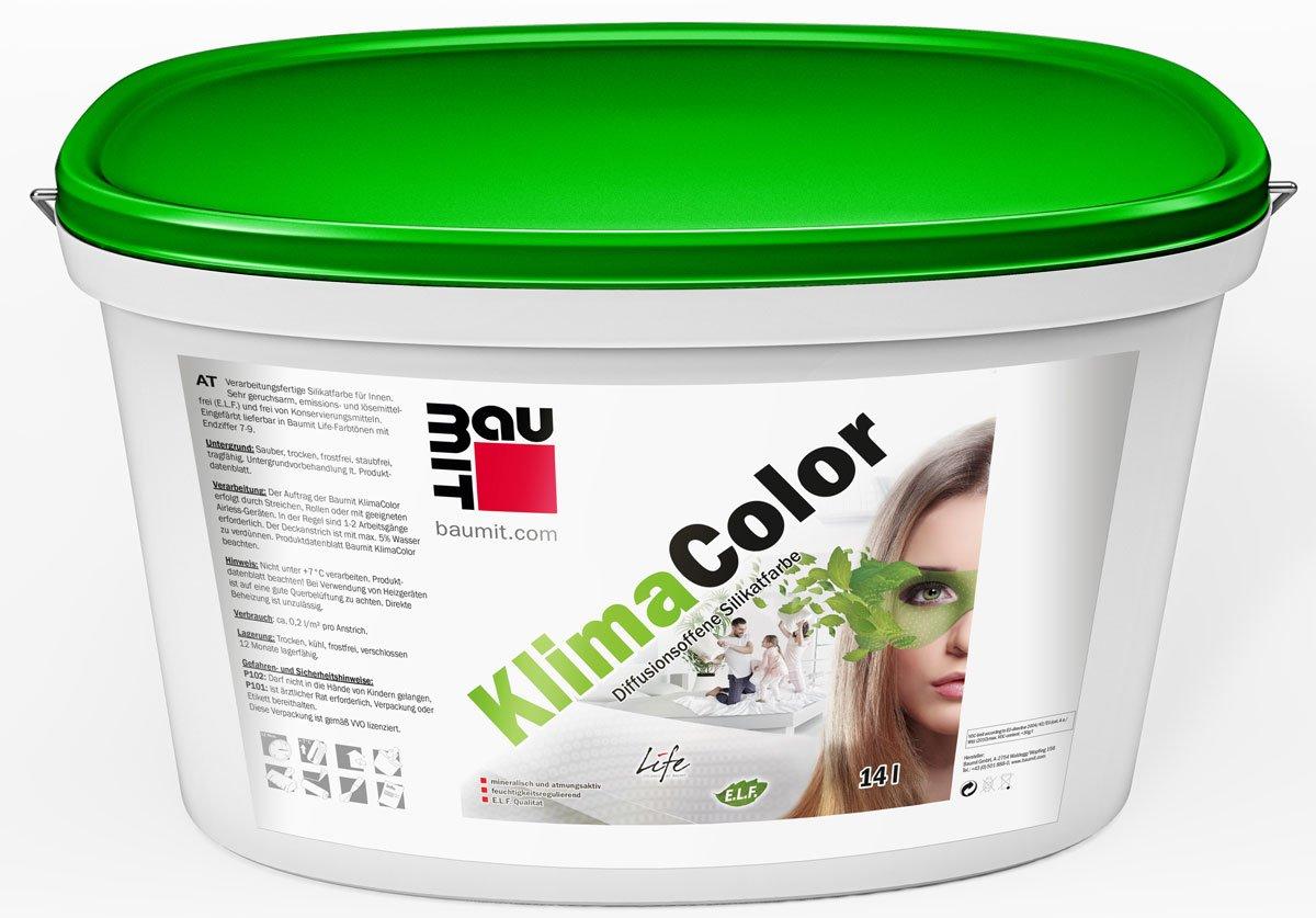 Interiérová silikátová barva