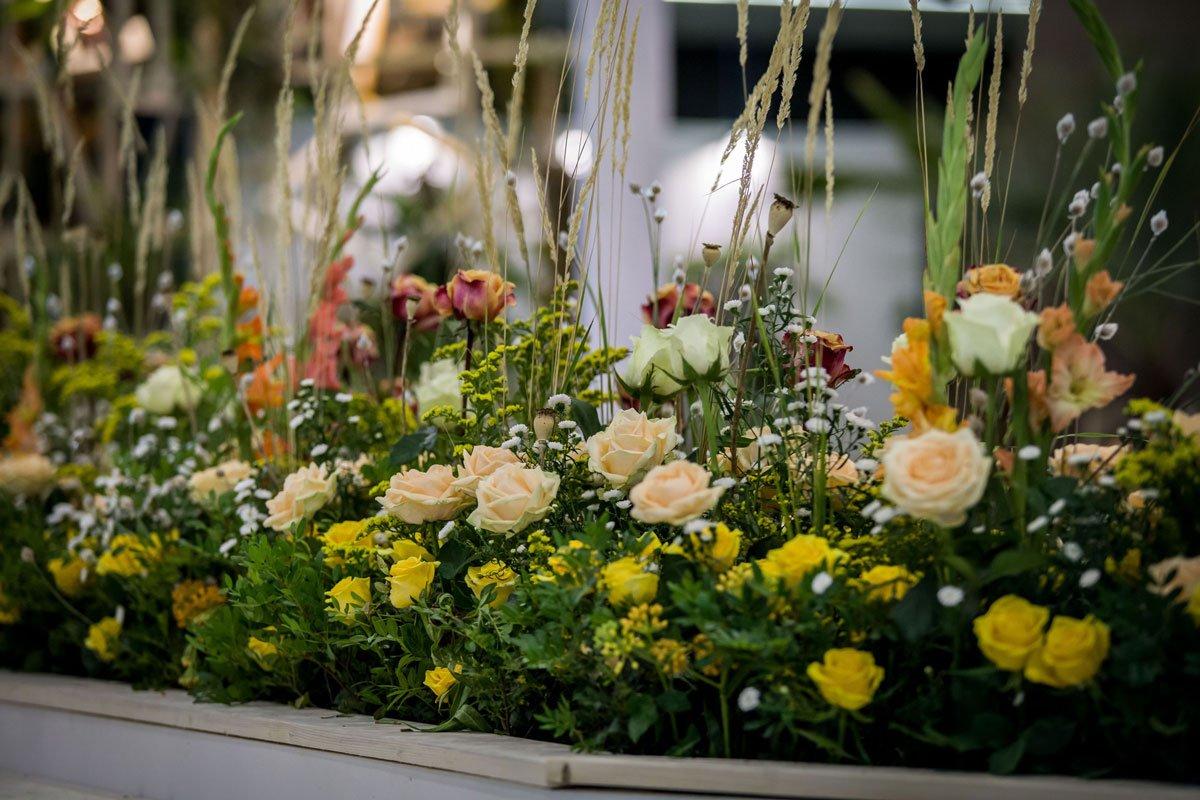 Květinové aranžmá na Floře Olomouc