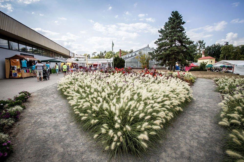 Letní zahradnické trhy na Floře Olomouc
