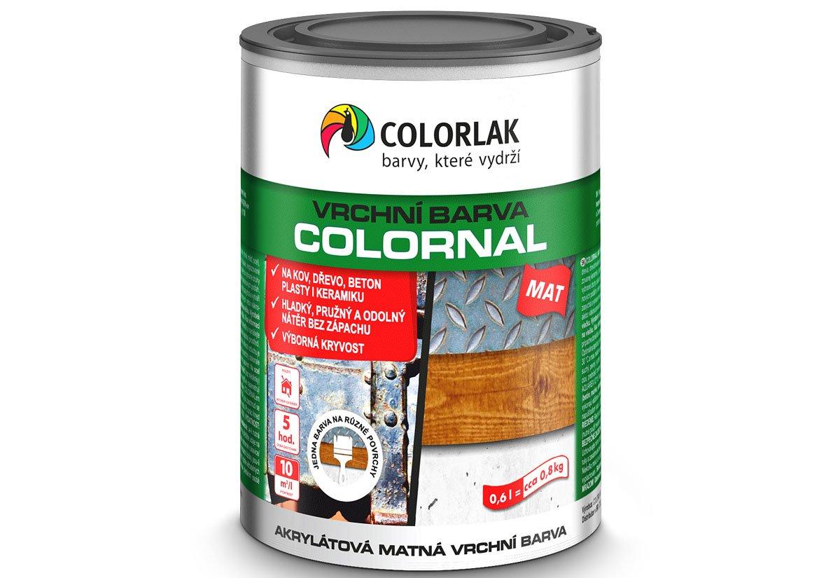 V2030 COLORNAL MAT vodouředitelná matná rychleschnoucí barva