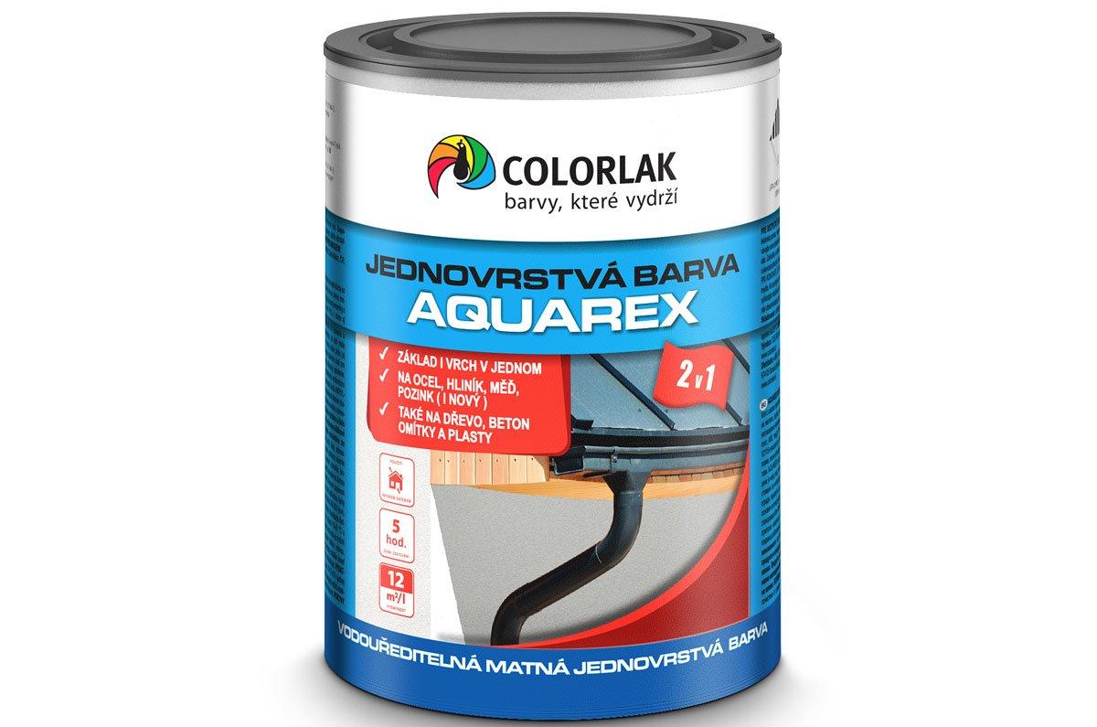 AQUAREX V2115 vodouředitelná jednovrstvá matná barva