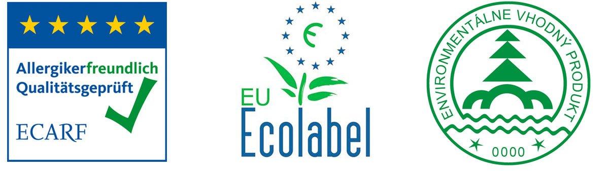 Environmentální loga pro označení eko-barev