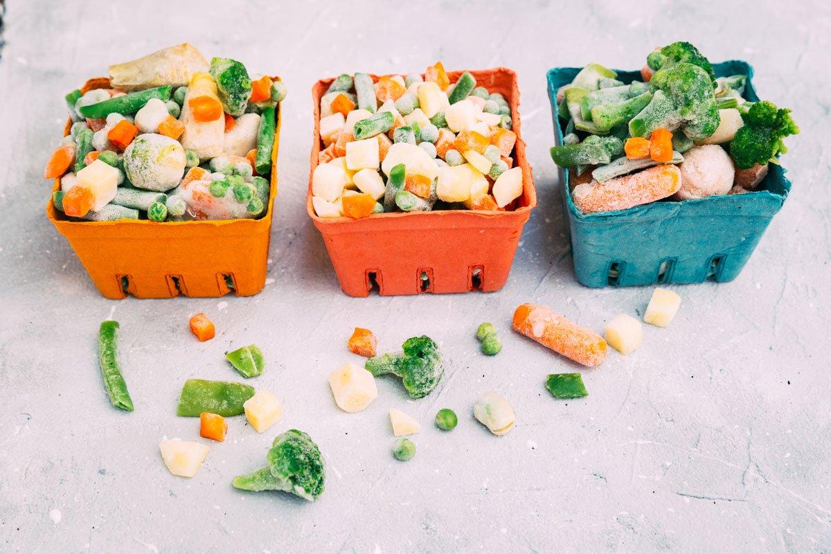 Jak zužitkovat úrodu zeleniny a ovoce: mražení zeleniny