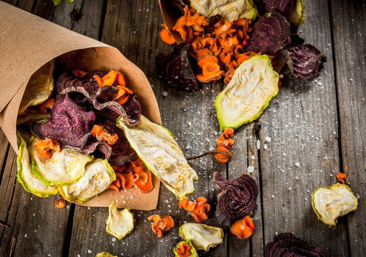 Jak zužitkovat úrodu zeleniny a ovoce: sušení zeleniny