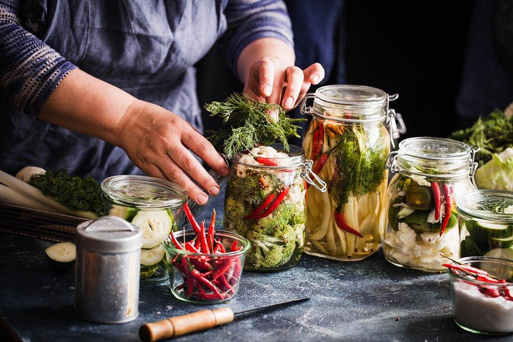 Nakládání zeleniny