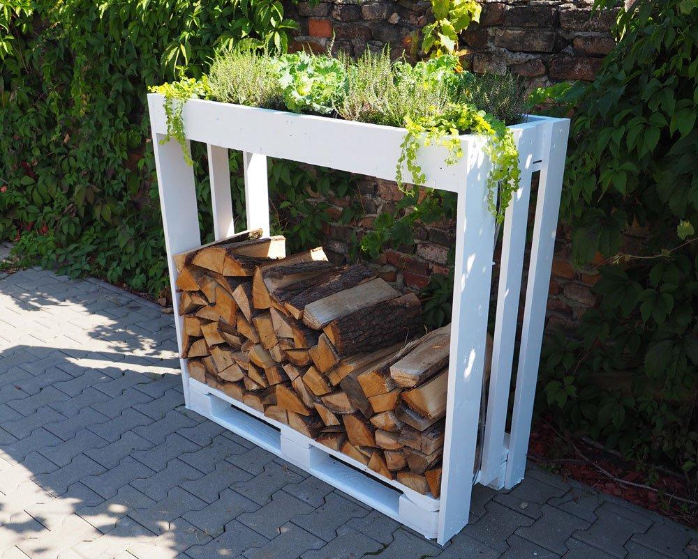 Jak vyrobit stojan na dřevo z palet
