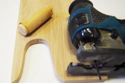 jak vyrobit vyzouvák na boty: výřez šablony