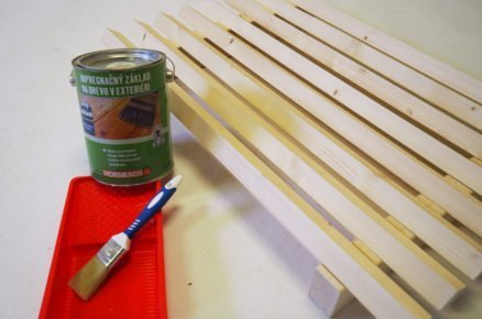 jak vyrobit dřevěnou rohožku na boty: impregnace