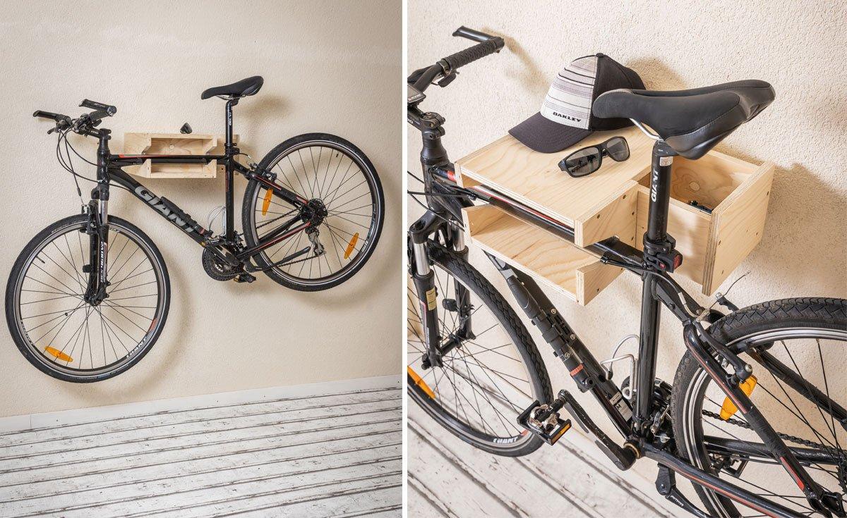 Jak vyrobit držák na kolo