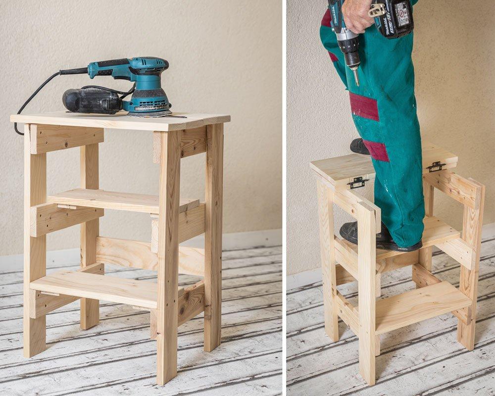 Jak vyrobit jednoduchý dřevěný stolek do dílny