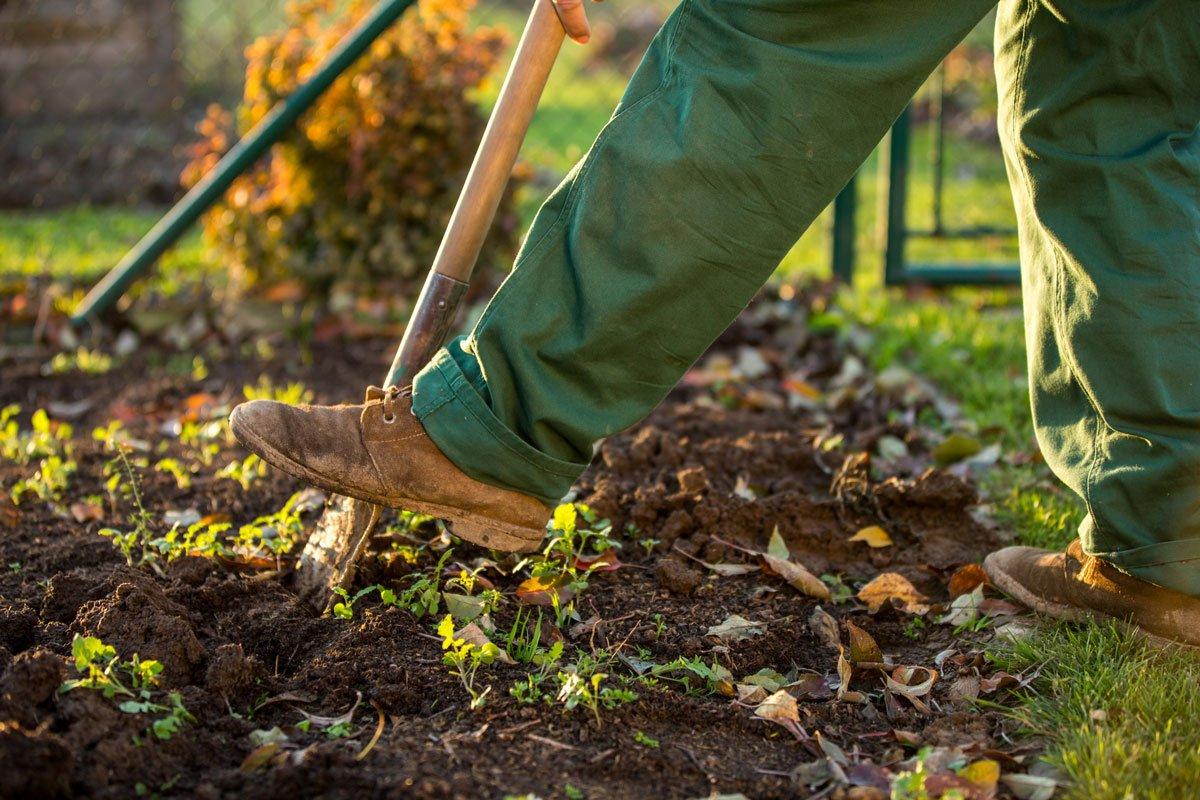10 nejdůležitějších kroků pro zazimování zahrady: zkypření záhonů