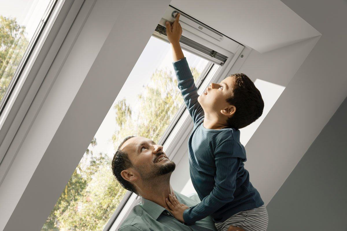 Nové střešní okno VELUX s trojsklem a vylepšenými parametry