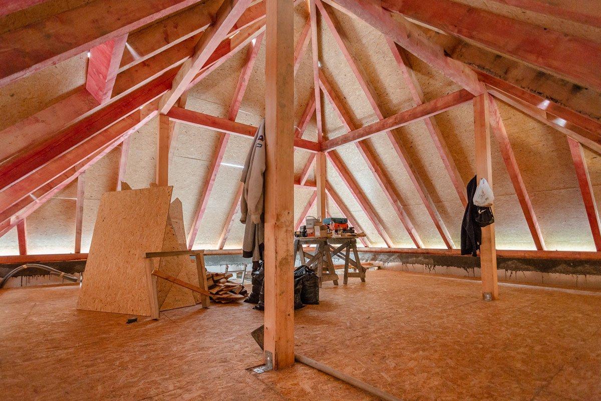 Projekt RenovActive: Nový krov