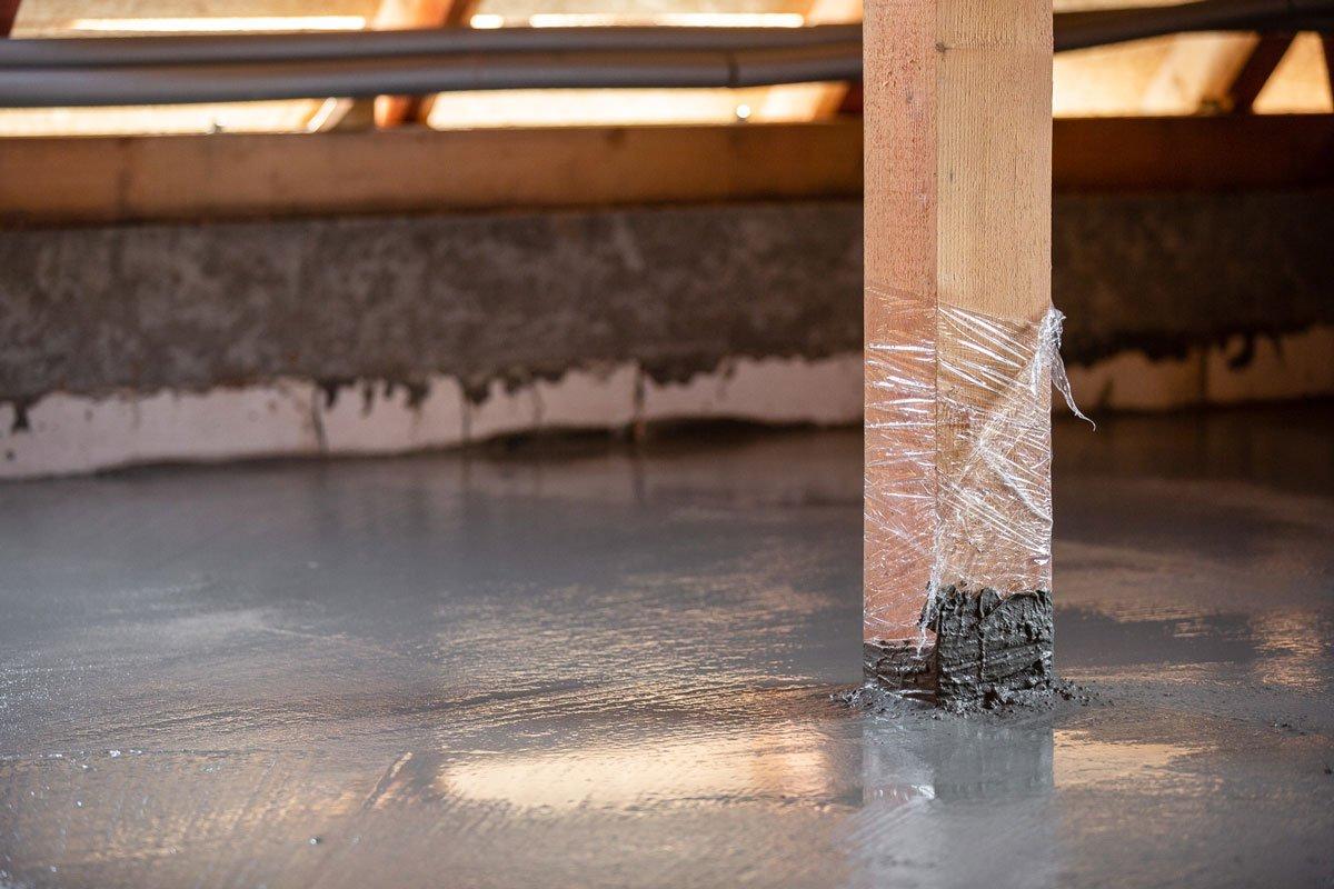 Projekt RenovActive: Vybetonovaný dřevo-betonový spřažený strop