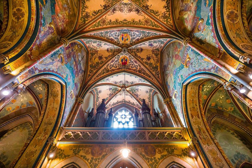 Den svatého Valentýna kvíz, bazilica svatého Petra a Pavla na pražském Vyšehradě