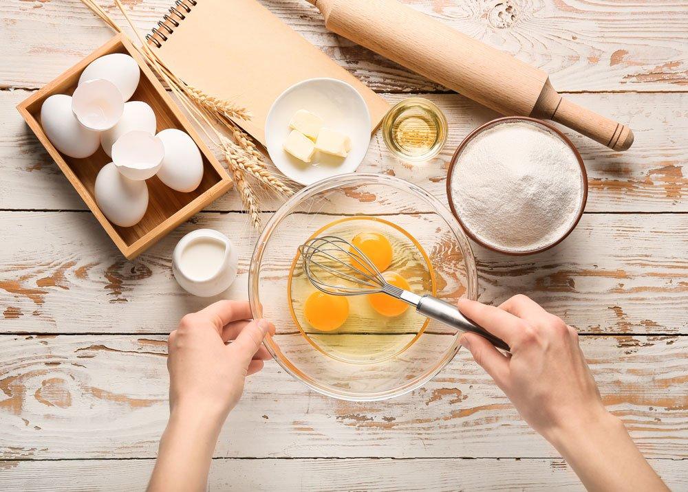 Čím nahradit vejce, droždí a jiné základní suroviny