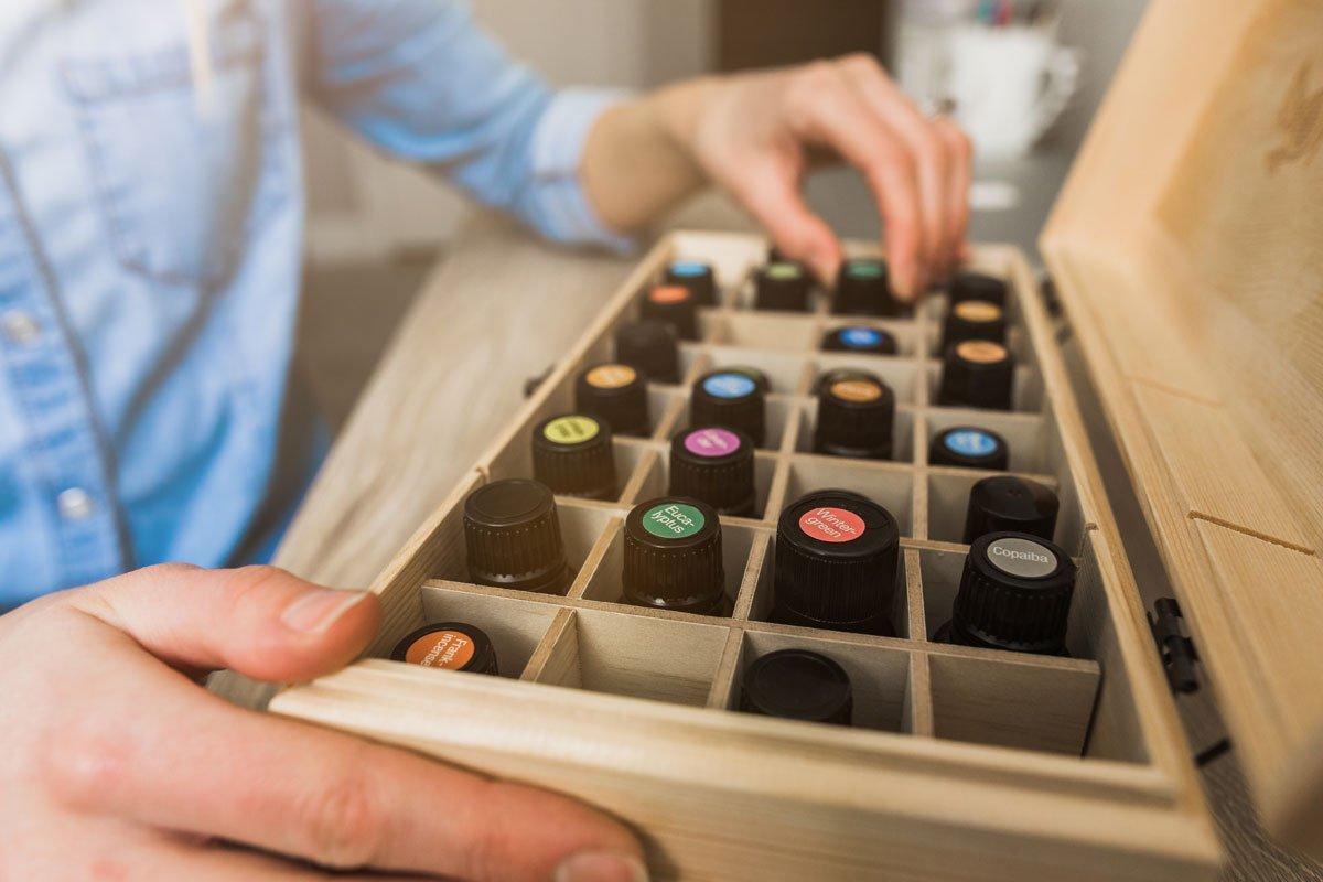 Esenciální oleje pro aromaterapeutické uklízení