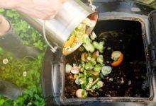 Kompostování kuchyňského bioodpadu