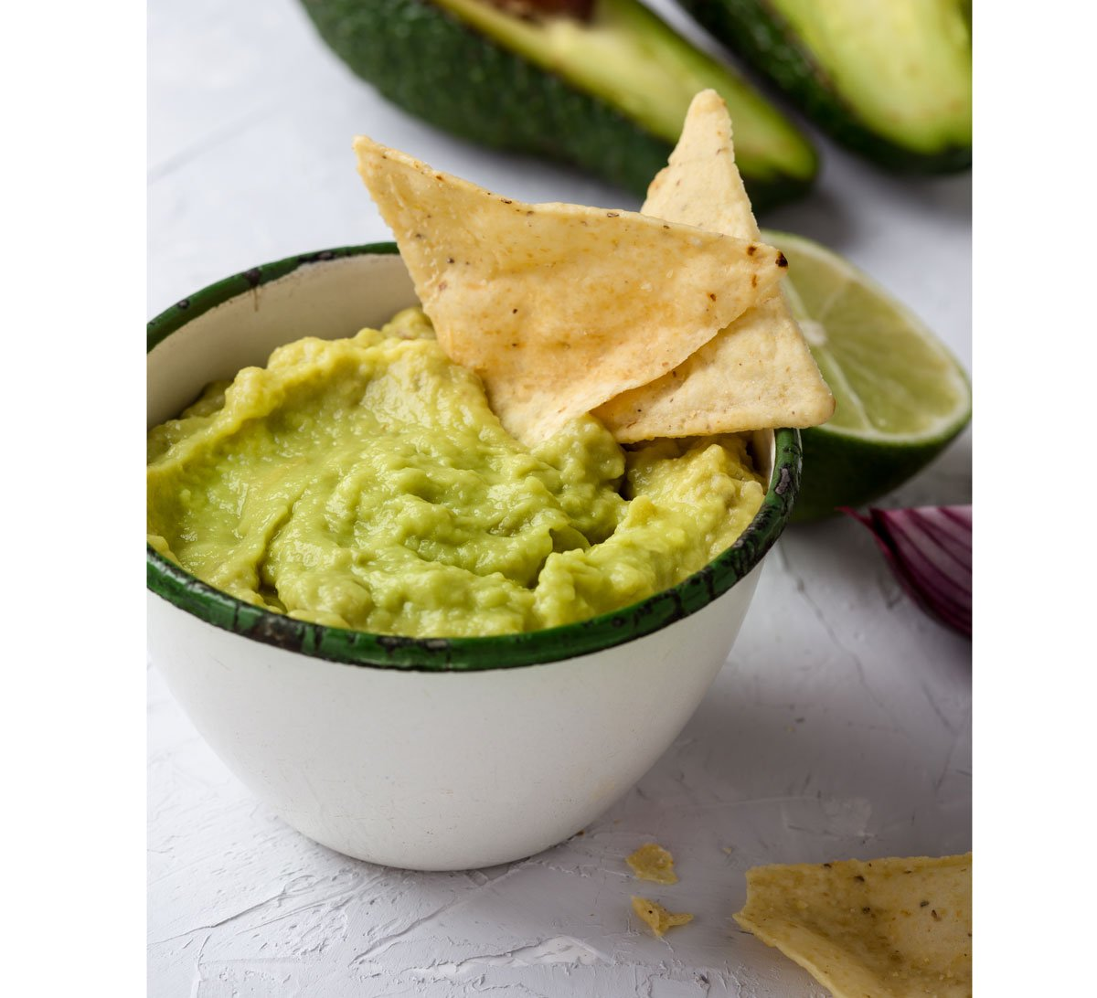 recept na avokádové guacamole