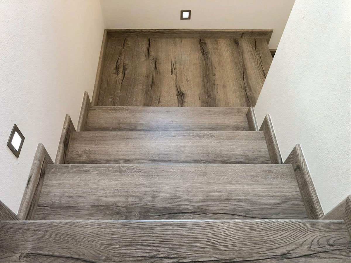 Renovace schodiště, schodové nášlapy TOPSTEP