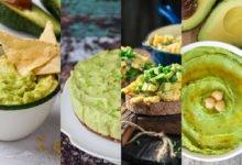 recepty z avokáda: avokádové guacamole, avokádový hummus, smaženice s avokádem a avokádový cheesecake bez lepku