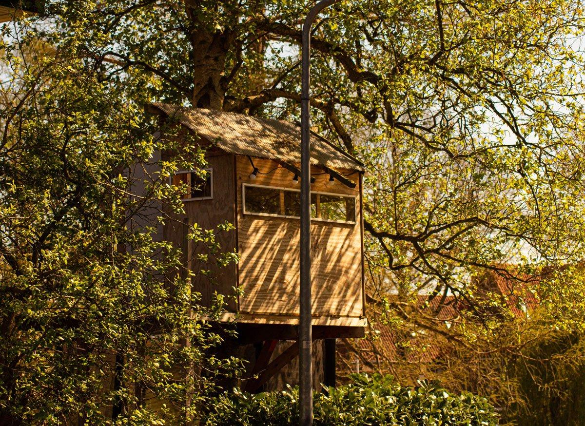 domek na stromě