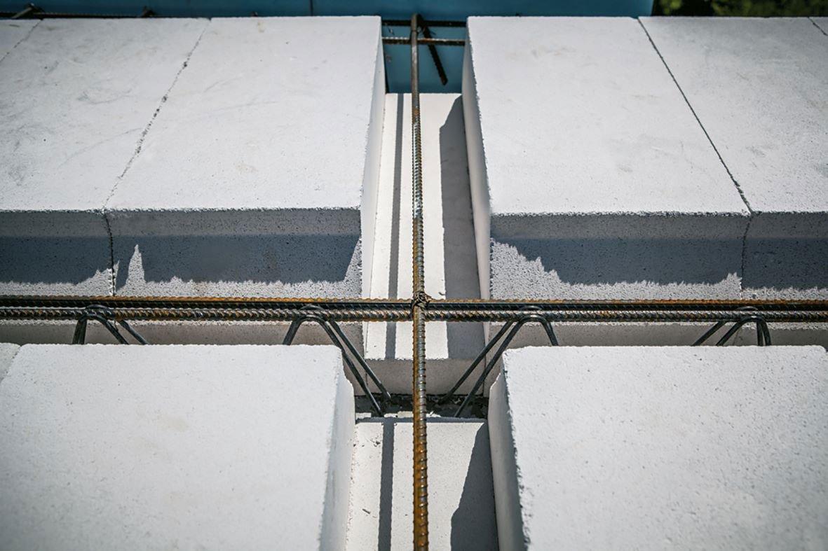 montování stropu Ytong Ekonom
