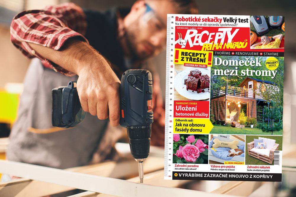 časopis Recepty prima nápadů červen 2021