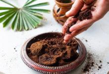 využití kávového lógru v domácnosti, kozmetice a v zahradě