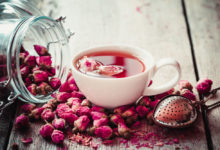 Růžový čaj