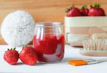 domácí kosmetika z jahod: jahodový peeling