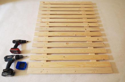 základní paletová konstrukce pro vertikální stěnu