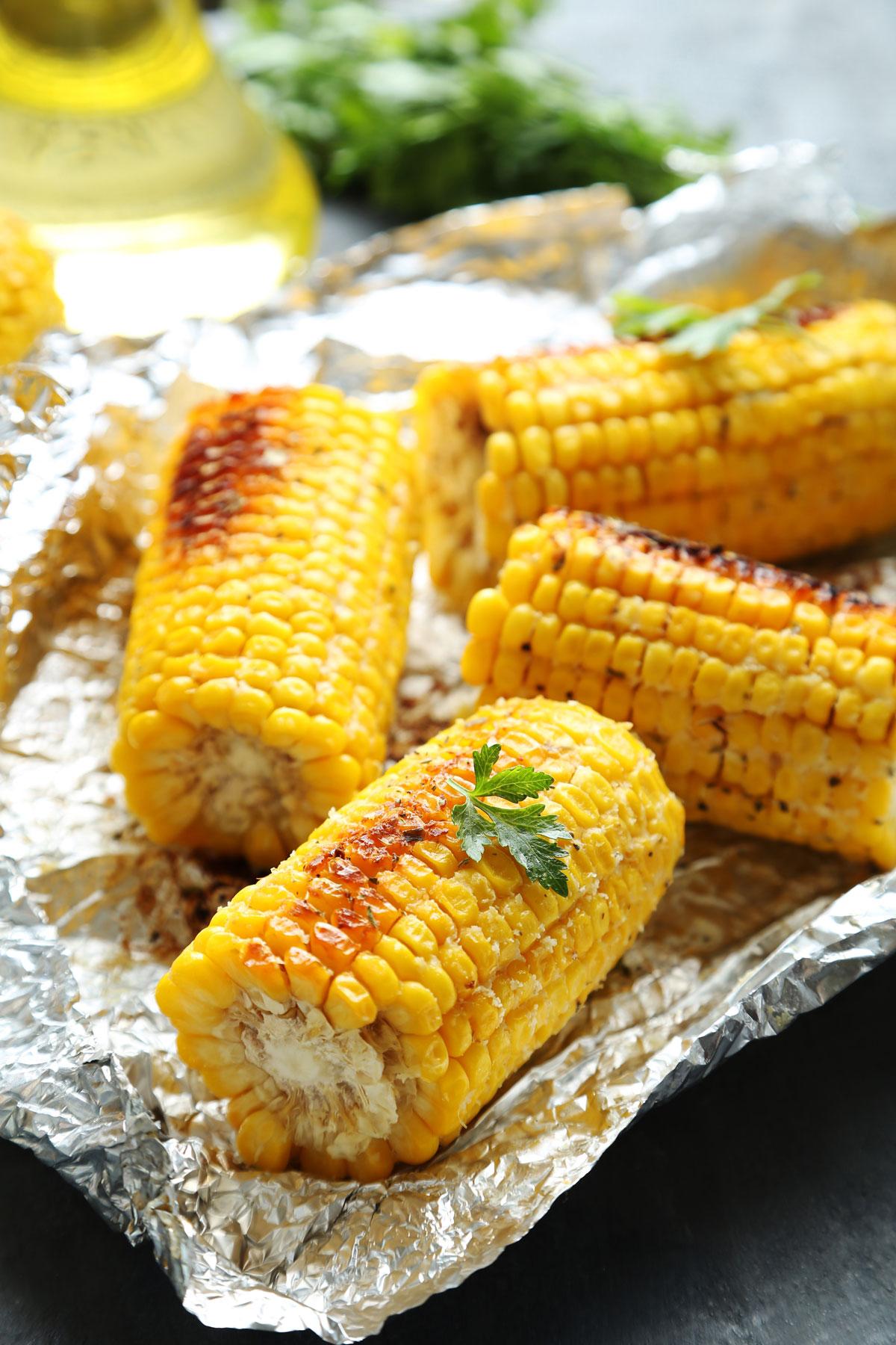 Kukuřice zgrilu