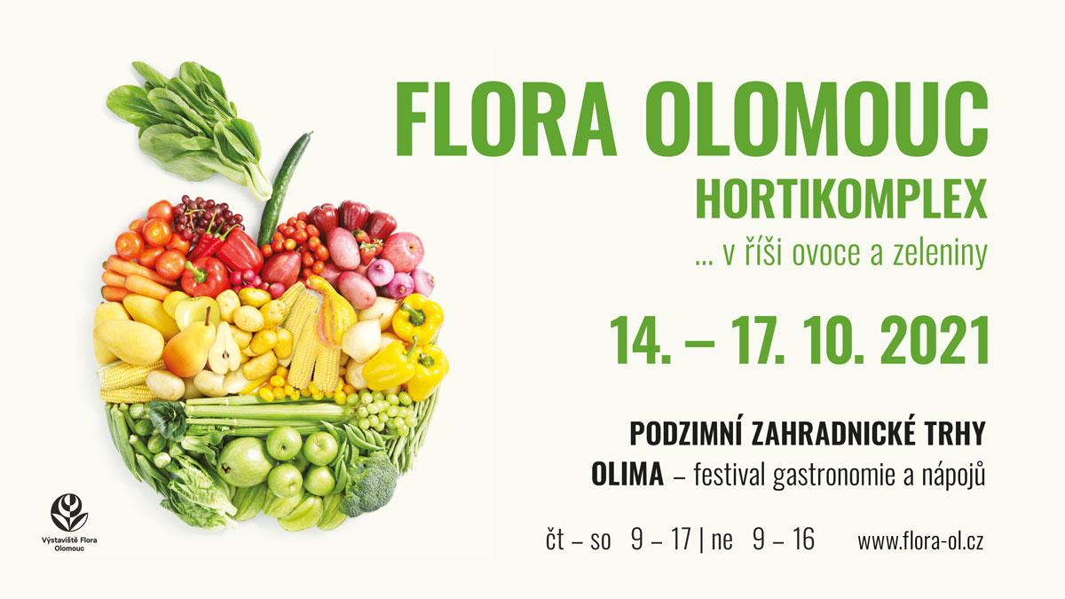 Podzimní Flora Olomouc 2021 pozvánka